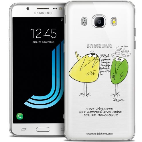 Extra Slim Crystal Galaxy J7 2016 (J710) Case Les Shadoks® Le Dialogue