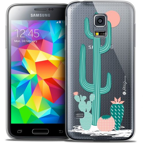 Extra Slim Crystal Galaxy S5 Mini Case Petits Grains® A l'Ombre des Cactus