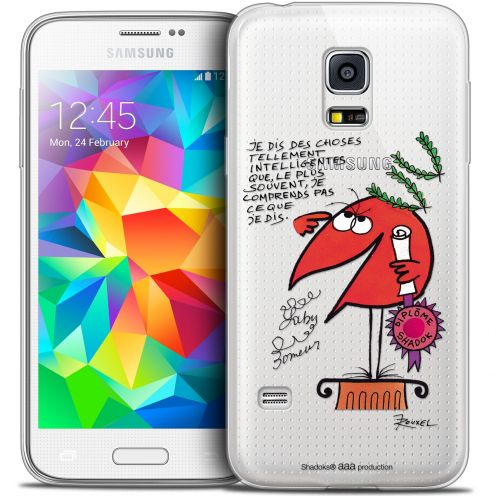Extra Slim Crystal Galaxy S5 Mini Case Les Shadoks® Intelligent