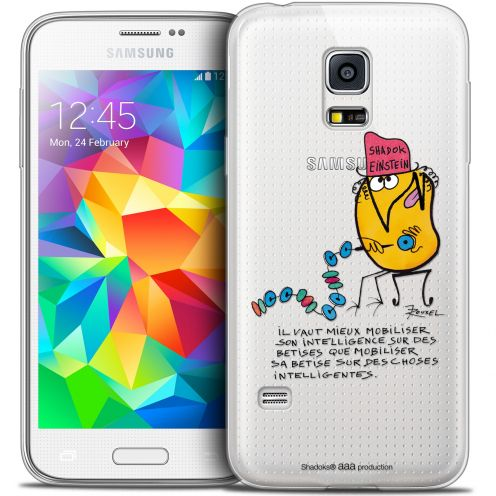 Extra Slim Crystal Galaxy S5 Mini Case Les Shadoks® Einstein