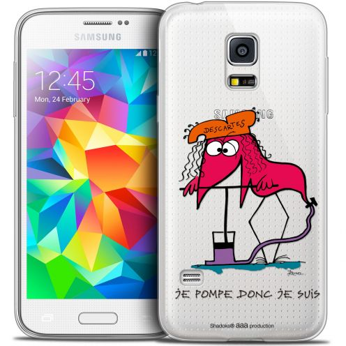 Extra Slim Crystal Galaxy S5 Mini Case Les Shadoks® Donc Je Suis