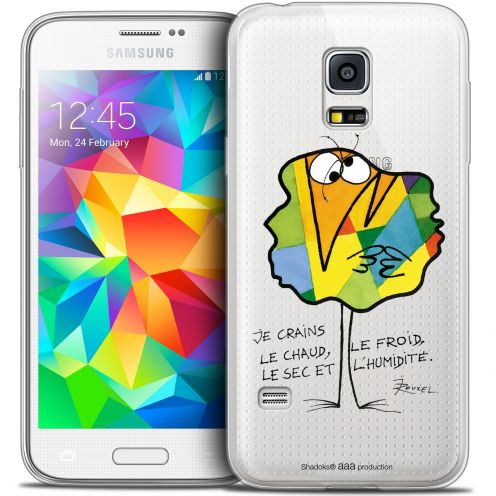 Extra Slim Crystal Galaxy S5 Mini Case Les Shadoks® Chaud ou Froid