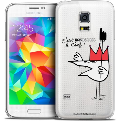 Extra Slim Crystal Galaxy S5 Mini Case Les Shadoks® Le Chef