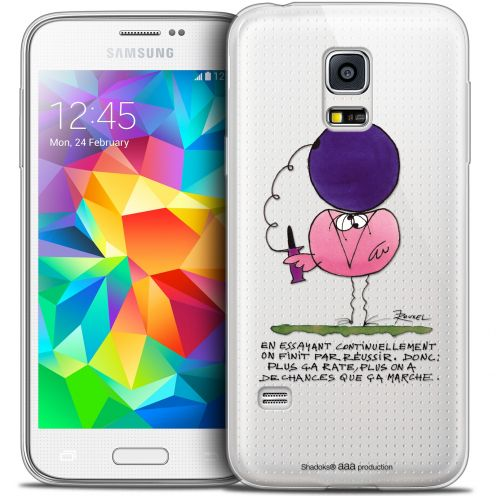 Extra Slim Crystal Galaxy S5 Mini Case Les Shadoks® En Essayant