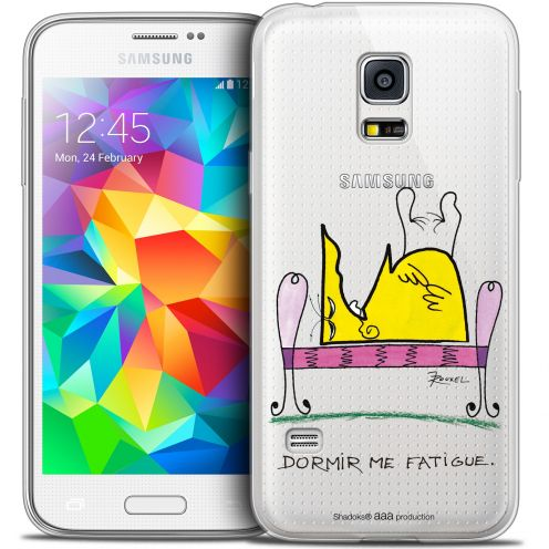 Extra Slim Crystal Galaxy S5 Mini Case Les Shadoks® Dormir