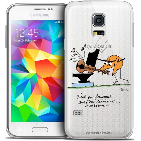 Extra Slim Crystal Galaxy S5 Mini Case Les Shadoks® Musicien