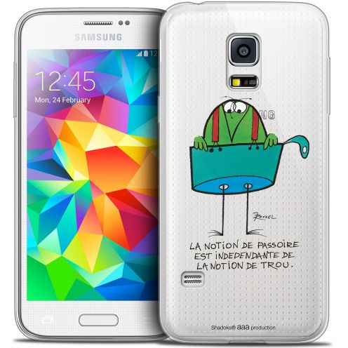 Extra Slim Crystal Galaxy S5 Mini Case Les Shadoks® La Passoire