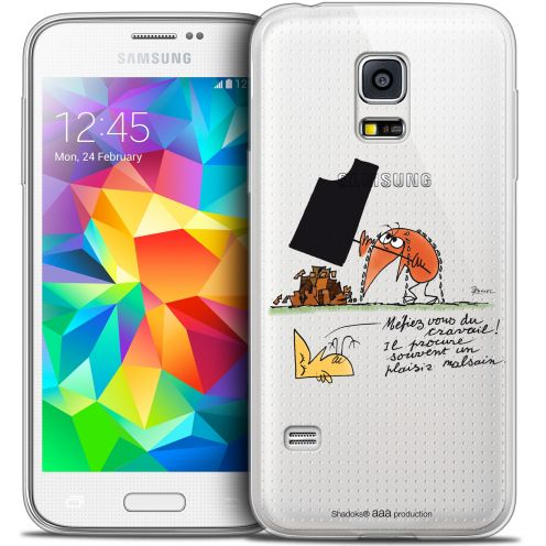 Extra Slim Crystal Galaxy S5 Mini Case Les Shadoks® Le Travail