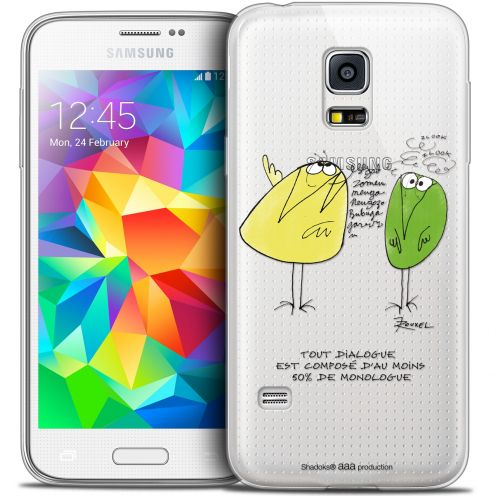 Extra Slim Crystal Galaxy S5 Mini Case Les Shadoks® Le Dialogue