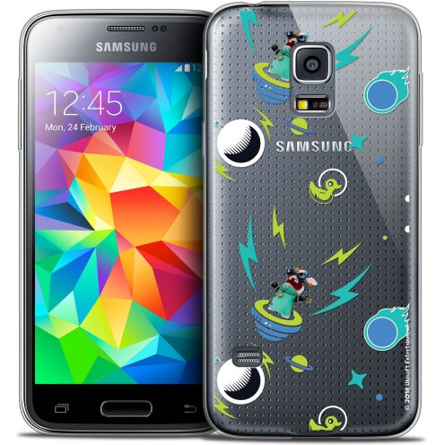 Crystal Galaxy S5 Mini Case Lapins Crétins™ Space 1