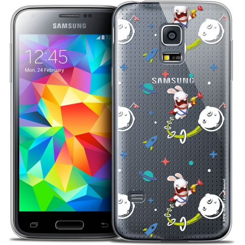 Crystal Galaxy S5 Mini Case Lapins Crétins™ Space 2