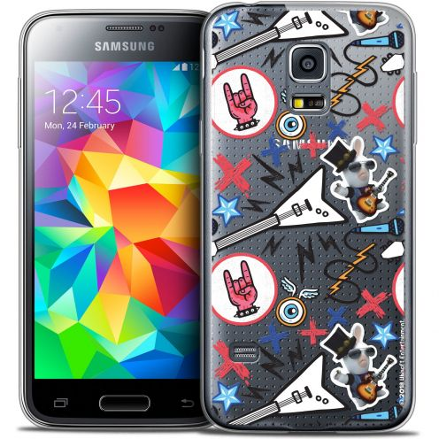 Crystal Galaxy S5 Mini Case Lapins Crétins™ Rock Pattern