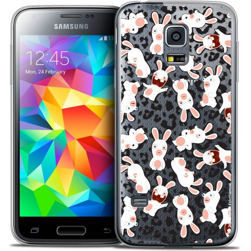 Crystal Galaxy S5 Mini Case Lapins Crétins™ Leopard Pattern