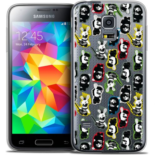 Crystal Galaxy S5 Mini Case Lapins Crétins™ Punk Pattern