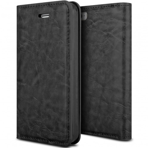ProSkin Folio Smart Magnet Case for Apple iPhone 5/5s Black