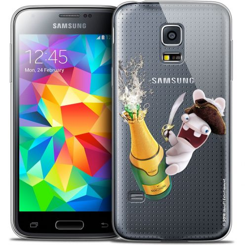 Crystal Galaxy S5 Mini Case Lapins Crétins™ Champagne !