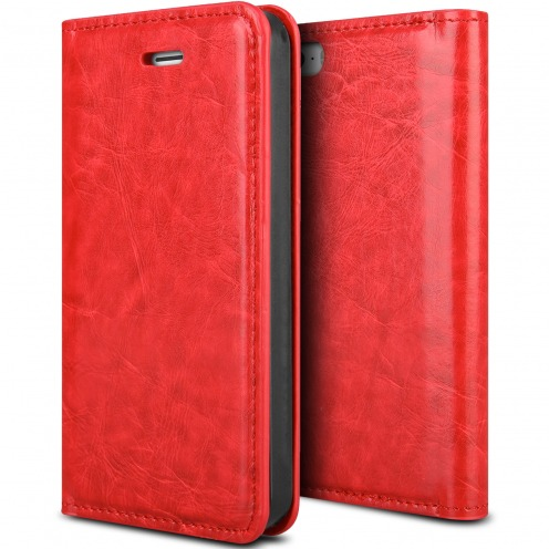 ProSkin Folio Smart Magnet Case for Apple iPhone 5/5s Red