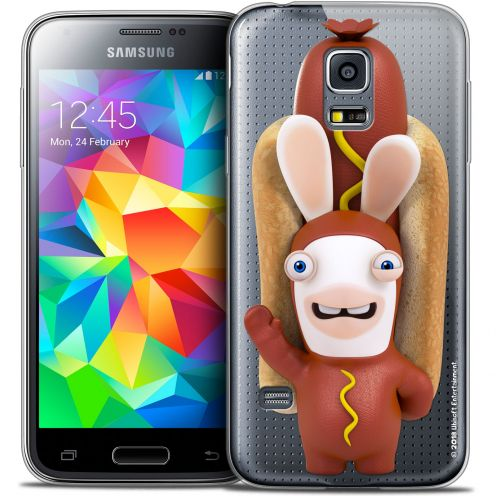Crystal Galaxy S5 Mini Case Lapins Crétins™ Hot Dog Crétin