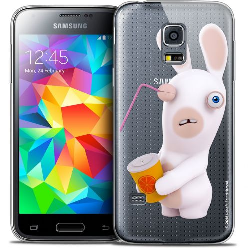 Crystal Galaxy S5 Mini Case Lapins Crétins™ Soda Crétin