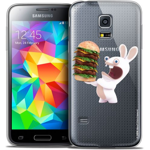 Crystal Galaxy S5 Mini Case Lapins Crétins™ Burger Crétin