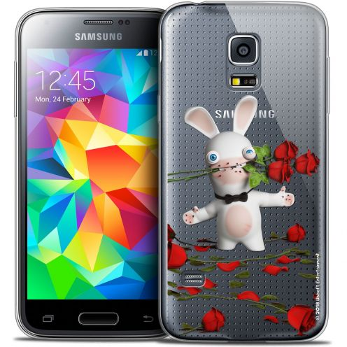 Crystal Galaxy S5 Mini Case Lapins Crétins™ Gentleman Crétin