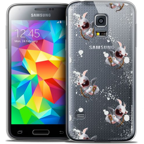 Crystal Galaxy S5 Mini Case Lapins Crétins™ Cupidon Pattern
