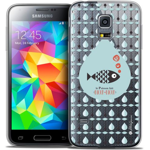 Extra Slim Crystal Galaxy S5 Case Petits Grains® Le Poisson