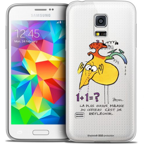 Extra Slim Crystal Galaxy S5 Case Les Shadoks® Réfléchir