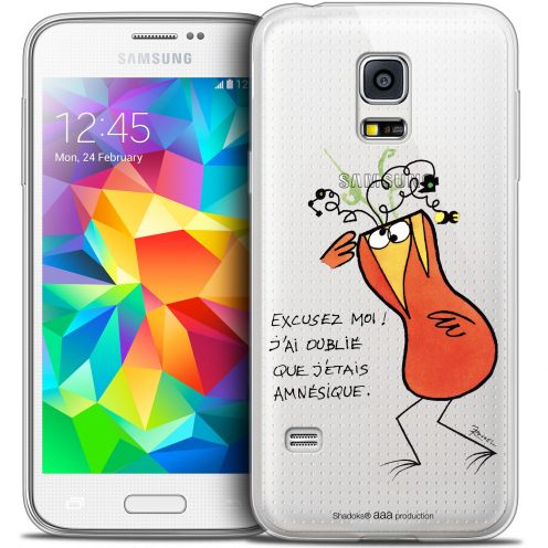 Extra Slim Crystal Galaxy S5 Case Les Shadoks® Amnésie