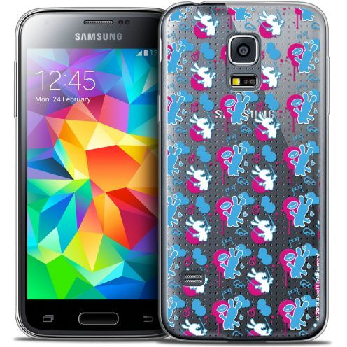 Crystal Galaxy S5 Case Lapins Crétins™ Rugby Pattern