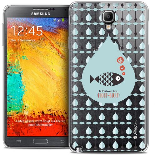 Extra Slim Crystal Galaxy Note 3 Neo / Lite Case Petits Grains® Le Poisson