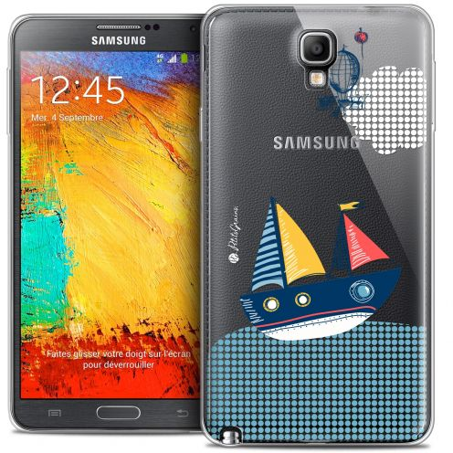 Extra Slim Crystal Galaxy Note 3 Neo / Lite Case Petits Grains® MVE Le Bateau