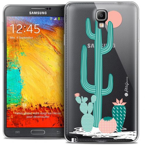 Extra Slim Crystal Galaxy Note 3 Neo / Lite Case Petits Grains® A l'Ombre des Cactus