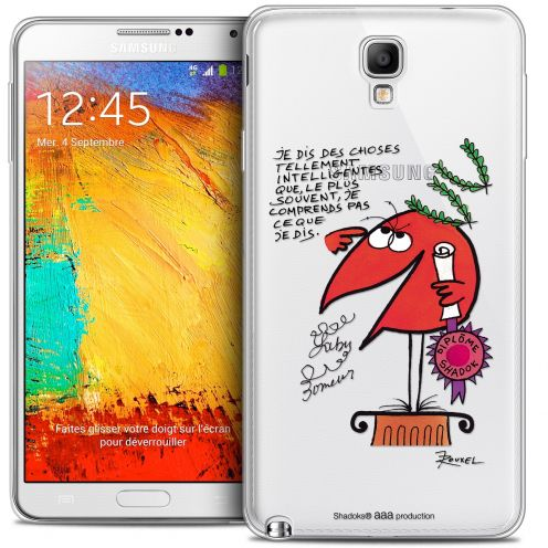 Extra Slim Crystal Galaxy Note 3 Neo / Lite Case Les Shadoks® Intelligent