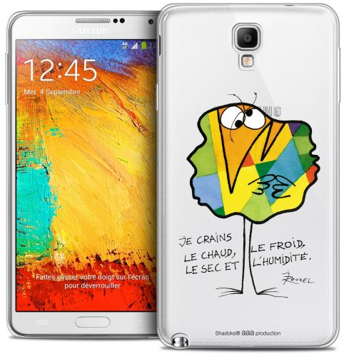 Extra Slim Crystal Galaxy Note 3 Neo / Lite Case Les Shadoks® Chaud ou Froid