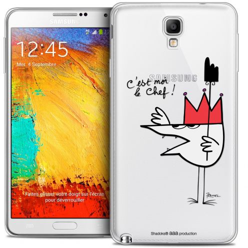 Extra Slim Crystal Galaxy Note 3 Neo / Lite Case Les Shadoks® Le Chef