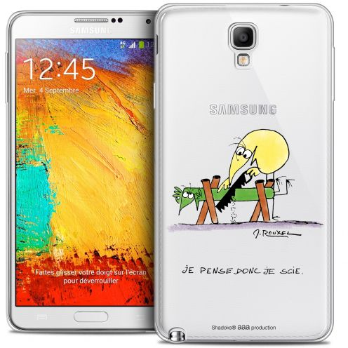 Extra Slim Crystal Galaxy Note 3 Neo / Lite Case Les Shadoks® Je pense Donc