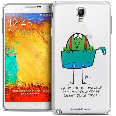 Extra Slim Crystal Galaxy Note 3 Neo / Lite Case Les Shadoks® La Passoire