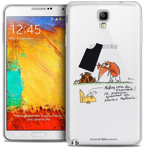Extra Slim Crystal Galaxy Note 3 Neo / Lite Case Les Shadoks® Le Travail
