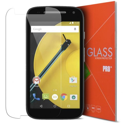 Glass Pro+ Ultra HD 9H  Tempered Glass Screen Protector for Motorola E 4G