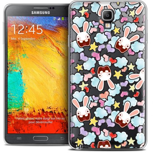 Crystal Galaxy Note 3 Neo / Lite Case Lapins Crétins™ Love Pattern