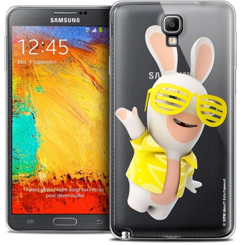 Crystal Galaxy Note 3 Neo / Lite Case Lapins Crétins™ Sun Glassss!