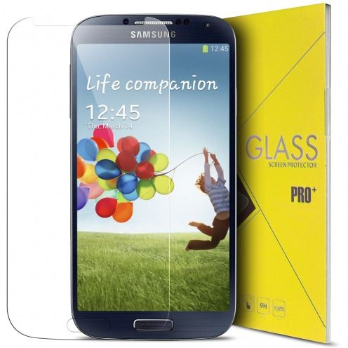 Glass Pro+ Ultra HD 9H  Tempered Glass Screen Protector for Samsung Galaxy S4
