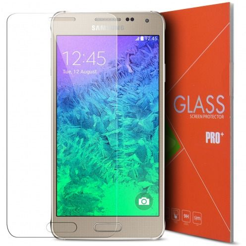 Glass Pro+ Ultra HD 9H Tempered Glass Screen Protector for Samsung Galaxy Alpha