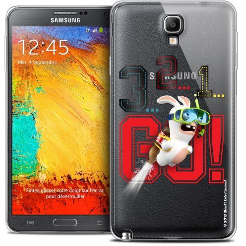 Crystal Galaxy Note 3 Neo / Lite Case Lapins Crétins™ 321 Go !