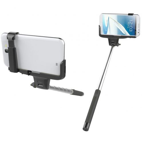 Monopod Selfie Stick Universal With Bluetooth 20-100 cm Black