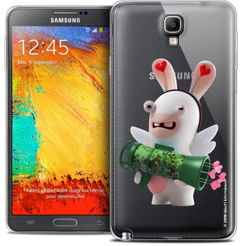 Crystal Galaxy Note 3 Neo / Lite Case Lapins Crétins™ Cupidon Soldat
