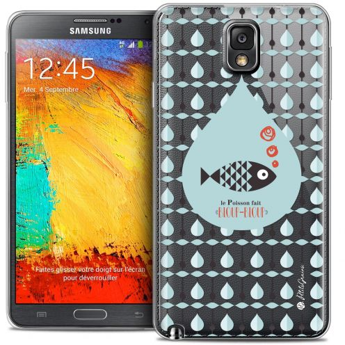 Extra Slim Crystal Galaxy Note 3 Case Petits Grains® Le Poisson