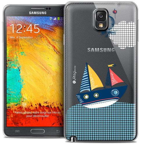 Extra Slim Crystal Galaxy Note 3 Case Petits Grains® MVE Le Bateau