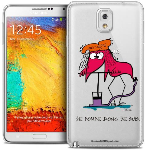 Extra Slim Crystal Galaxy Note 3 Case Les Shadoks® Donc Je Suis